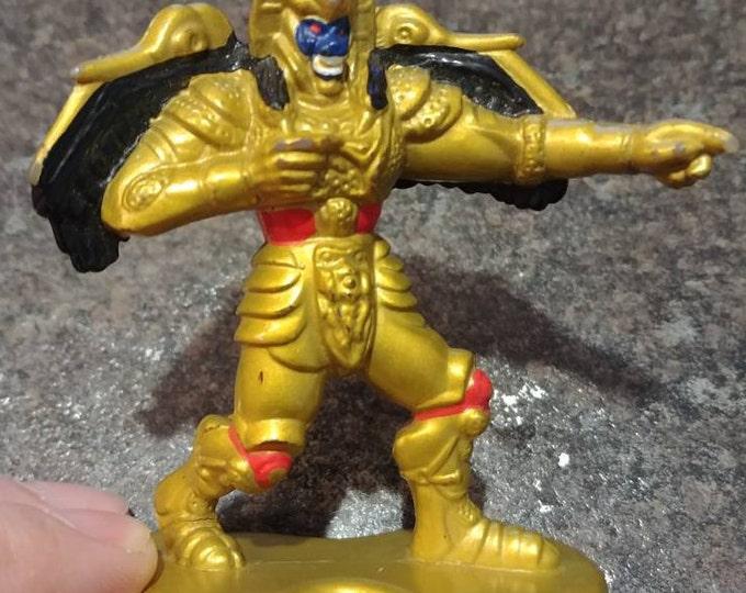 Vintage Goldar Mighty Morphin Power Rangers PVC mini figure Collectible Figures 1993 Bandai Saban space alien bad guy