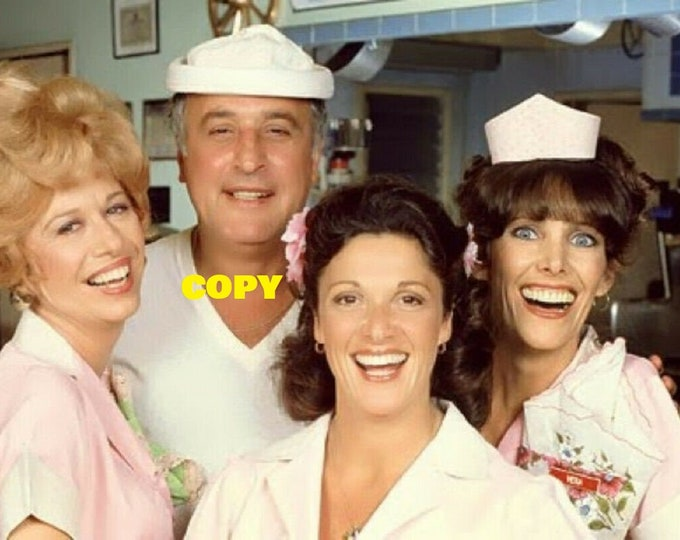 Alice TV show comedy 1970's 1980's cast publicity photo picture retro vintage RP 4x6