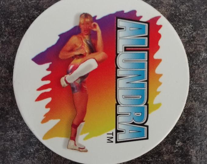 HTF Alundra Blayze WWF Matcaps wrestling Pog Pogs Milk Caps 1995