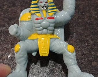 Vintage King Sphinx Mighty Morphin Power Rangers PVC mini figure Collectible Figures 1993 Bandai Saban space alien bad guy
