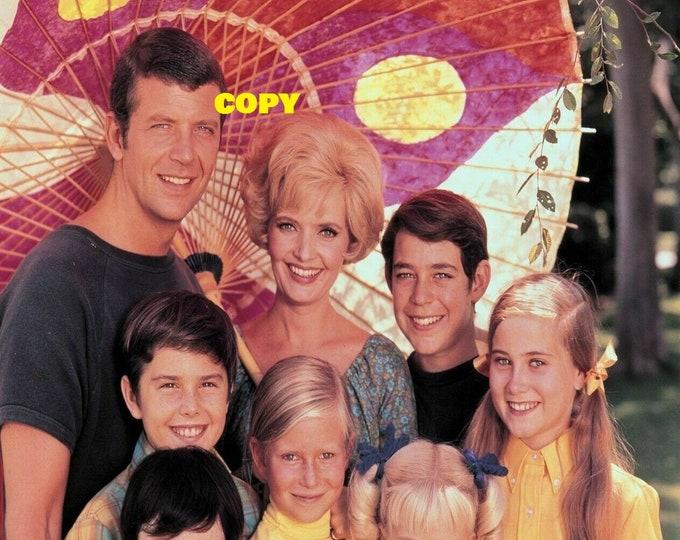 The Brady Bunch 1970's TV show cast comedy vintage publicity picture photo RP 4x6