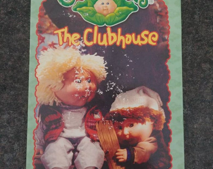 RARE Canadian version Cabbage Patch Kids The Clubhouse VHS tape 4 Kids Home Video 2000's