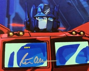 Vintage retro Peter Cullen voice of Optimus Prime TV show Transformers 1980's photo picture color 4x6