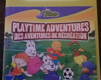 RARE Canadian Treehouse DVD Playtime Adventures Vol. 1 kid TV shows cartoons animated