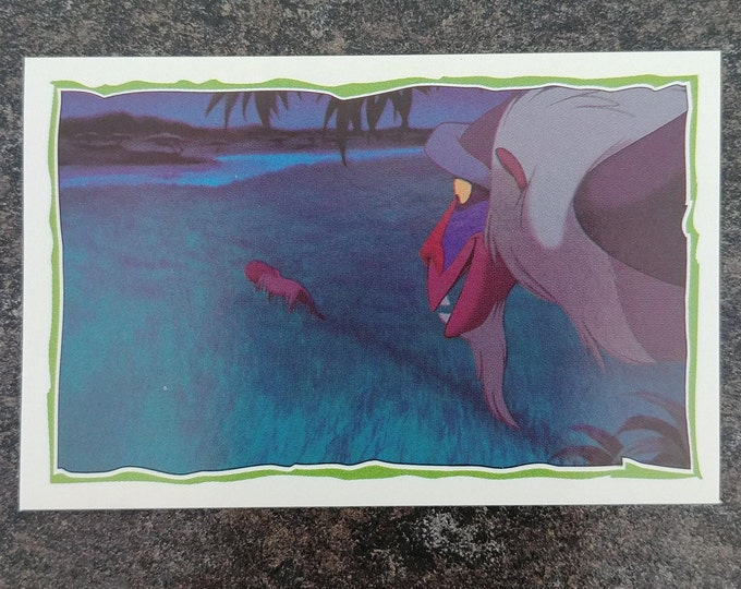 Panini The Lion King 1995 sticker album sticker book #198 sticker Disney movie