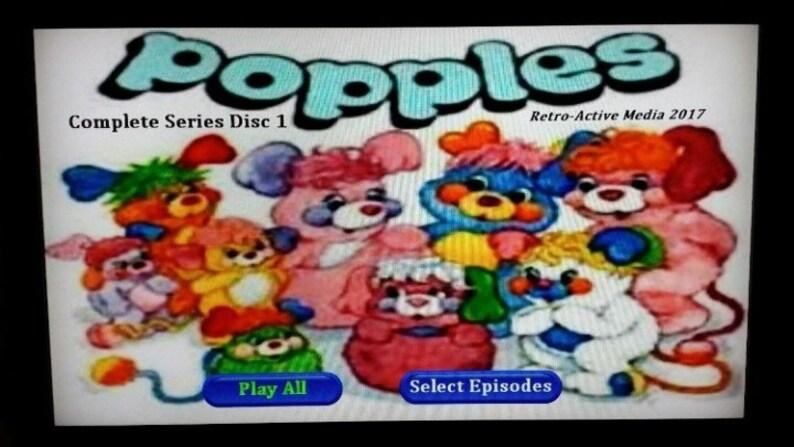 Popples complete 1986 series on DVD 4 discs Dic Entertainment cartoon TV  show