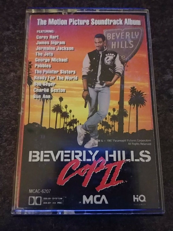Beverly Hills Cop Ii 1987 Cassette Mca Records Inc Canada Etsy