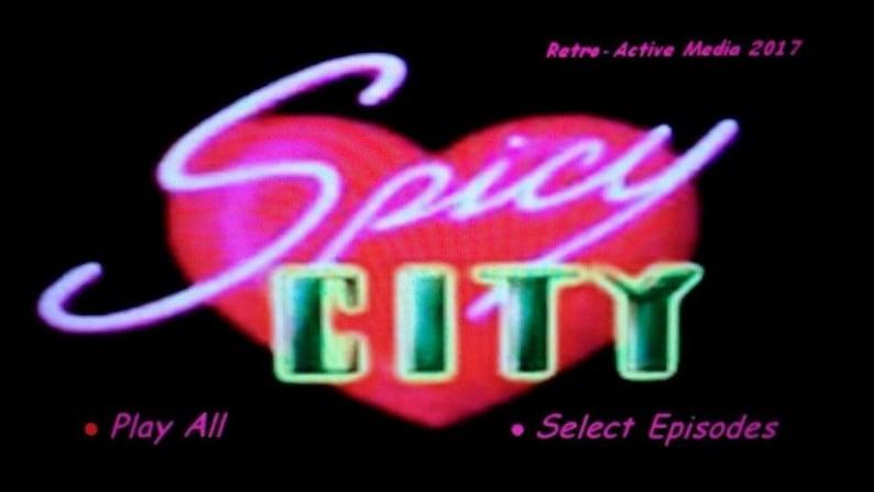 Rare Spicy City cartoon HBO TV series on 2 DVD's Ralph Bakshi Adult Cartoon  1997