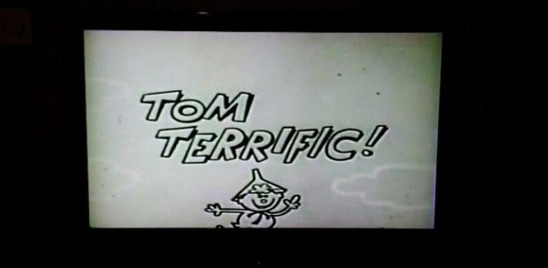 RARE Tom Terrific Terrytoons cartoon TV show on DVD 2 hours 10 episodes 1957