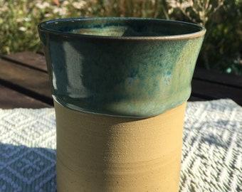 Drinking Mug Green Mug Cup Coffee Mug Water Glass Ceramic Clay