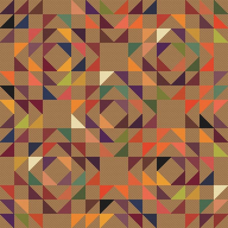 Cross Stitch Quilt 20 image 0