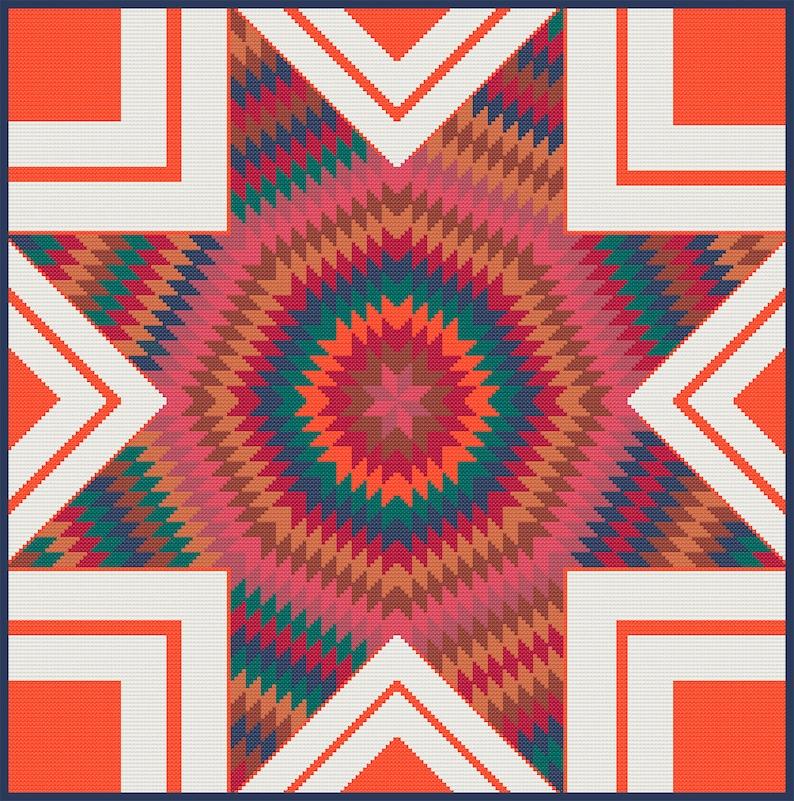 Cross Stitch Quilt 13 image 0