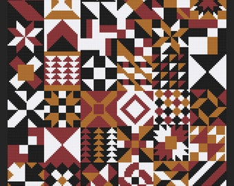 Cross Stitch Quilt 18