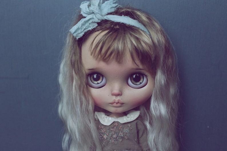 doll blythe reroot natural hair custom /OOAK alisi image 2