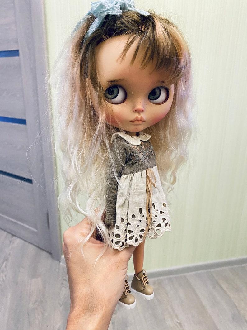 doll blythe reroot natural hair custom /OOAK alisi image 6