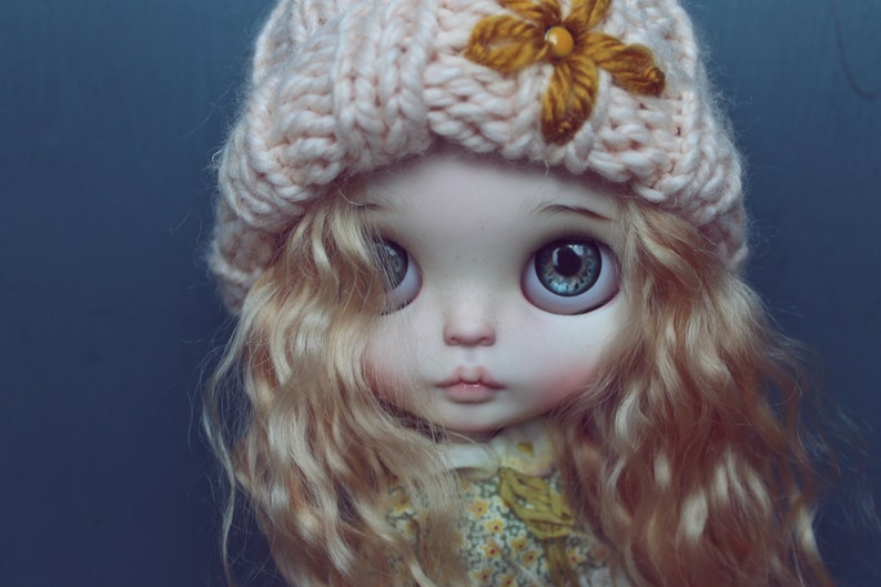 Sold outdoll blythe custom/ OOAK alisi pink hair image 1
