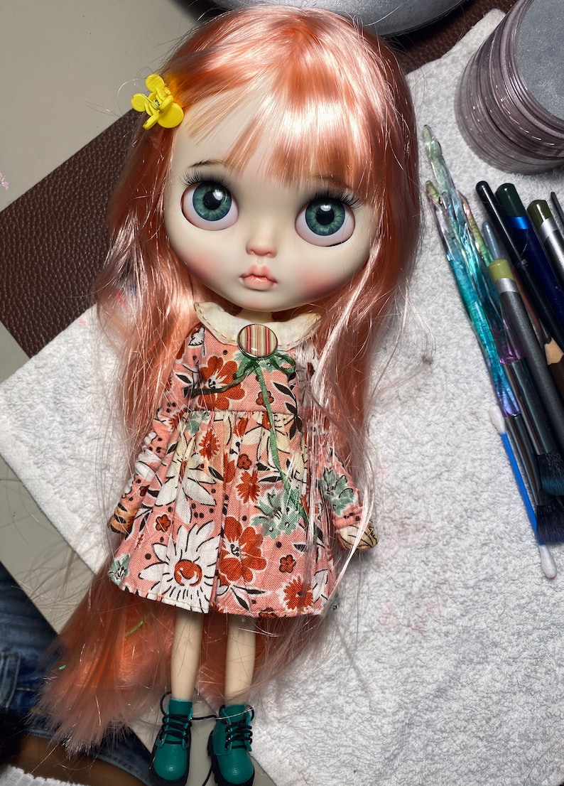 Sold outdoll blythe custom/ OOAK alisi image 7