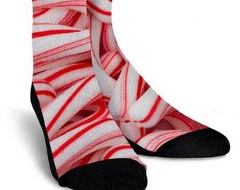 6dd86e3bfd1 Candy cane socks