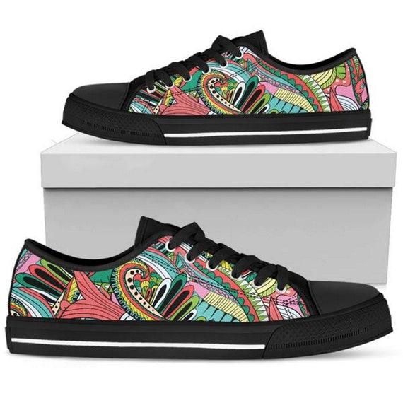 Funky Patterns Womens Sneakers