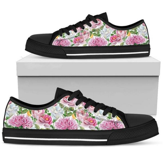 Floral Sneakers Sneaker Shoes Womens