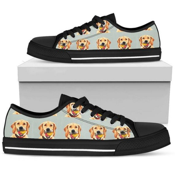 Golden Retriever, Womens Sneakers, Customized Converse, Sneaker Shoes, Sporty, Summer Shoes, Fashion Sneakers, Casual Womens Shoes, Footwear