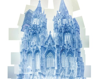 Cologne Cathedral - Collage