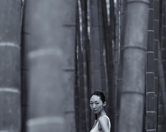 Model in the Bamboo Forest, Japan 2015