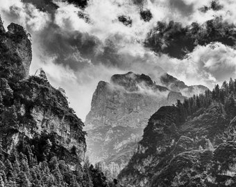 Dolomites - View of the Cristallo Group