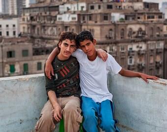 Friends in Cairo