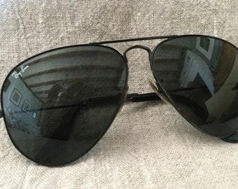 3b1ff6fde5e5d Vintage RayBan Aviator lunettes