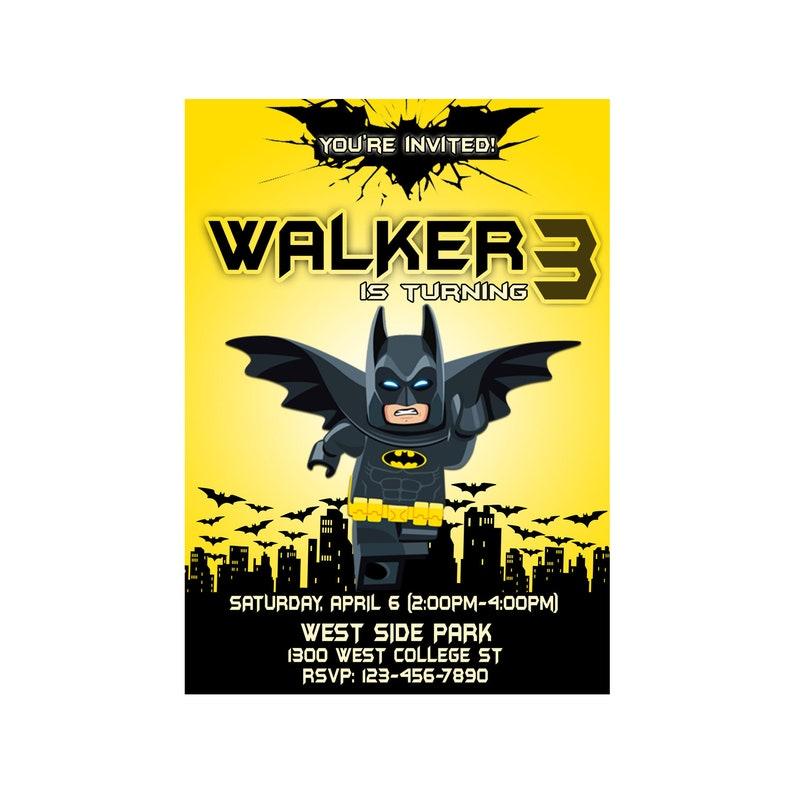 image relating to Batman Printable Birthday Card identified as Batman Birthday Invitation, Batman Printable Invitation, Batman Invitation Card, Batman Birthday Card, 12Several hours Turnaround Period