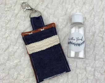 Hand Sanitizer Holder, Lotion Holder, Hand Sanitizer Gift, Sanitizer Clip, Hostess Gift, Sanitizer Holder, Oil Accessories
