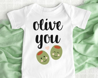 a8b8dee9cca0 Olive onesie