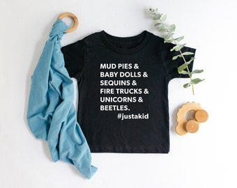 f4eb6b92a Anti Gender Stereotypes List Shirt | Future Activist | Tiny Activist | Gender  Roles | Hipster Toddler Clothes | First Birthday Present