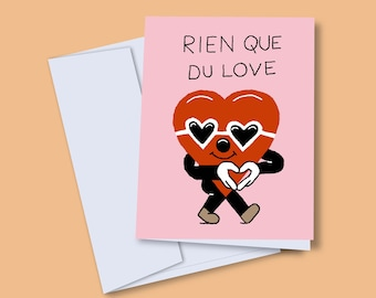 Greeting card Love only
