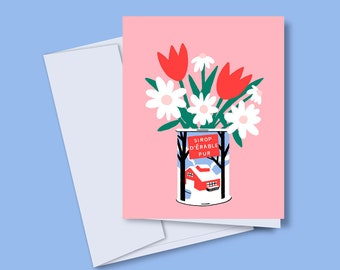 Greeting card / Maple Syrup / Christmas card