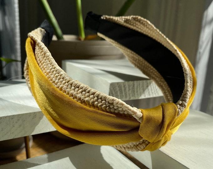 Bolina Ribbon Woven Headband