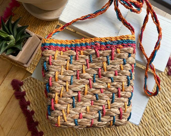 Mindanao Woven Crossbody Bag