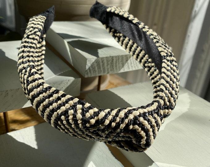 Rosa Banig Woven Headband