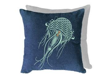 Jellyfish Pillow Etsy