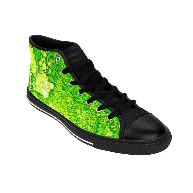 Sneakers alte da donna Green Slimesplosion n3Dkt3nS
