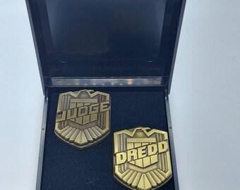 Irish Justice Badge Belt COMBO Judge Dredd