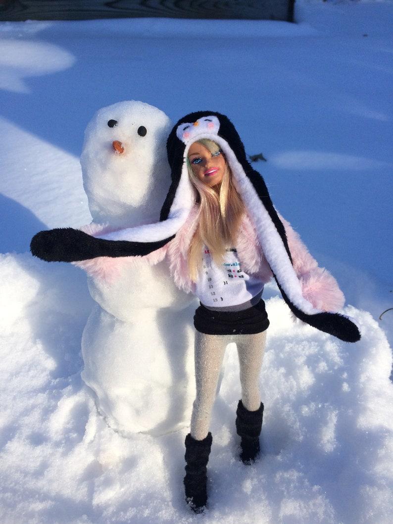 d2be000d8baa9 Penguin Barbie Hats for Barbie Jojo Siwa Doll