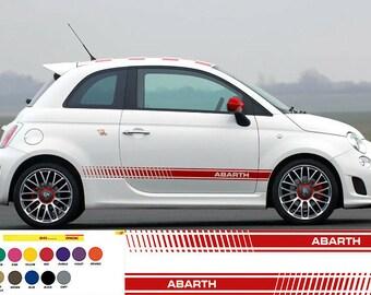 Einzigartiger Aufkleber für FIAT Cinquecento 500 Tuning