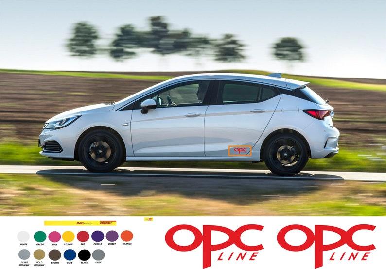 OPC line Sticker Opel Astra OPC Line Sport  Meriva Zafira