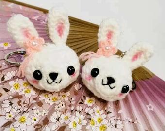 Little bunny keychain amigurumi - Amigu World   270x340