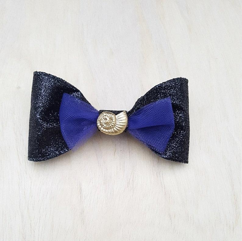 Ursula Inspired Hair Clip Bow