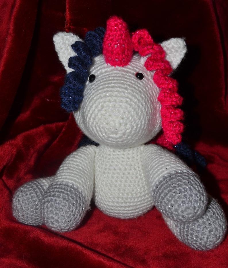 Amigurumi Today Baby Unicorn Sparkle Yarn
