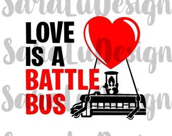 love is a battle bus - fortnite battle bus drawing easy
