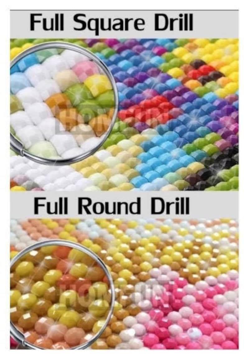 Full Round Drill  Bead 16 x 20 inches Alice In Wonderland DIY Diamond Painting Kit